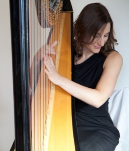 Cecily Beer, harp, wedding, music